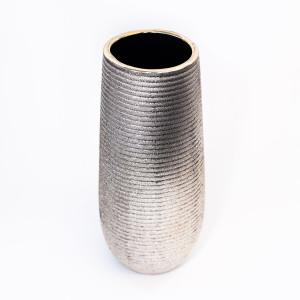 vas ceramic , vaza ,Dolores Gold